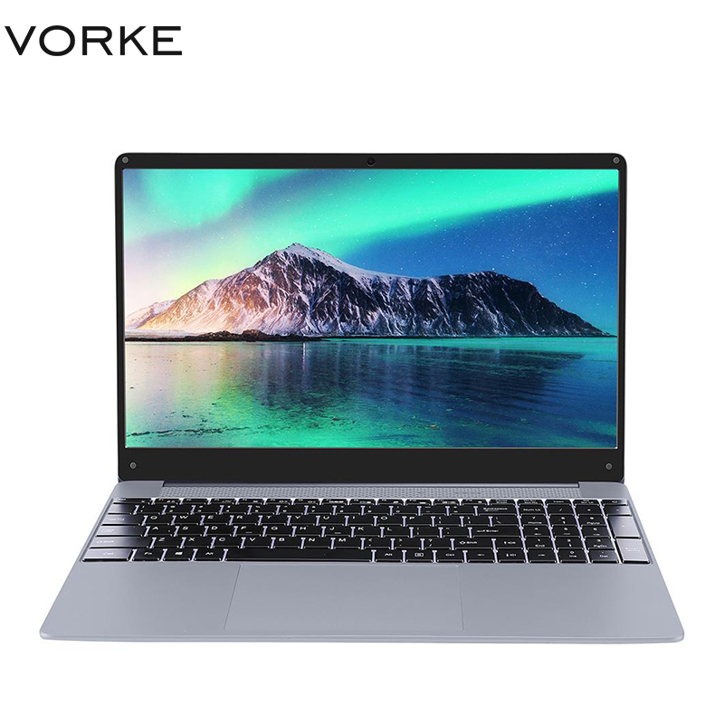 New VORKE <font><b>Notebook</b></font> 15 PRO Laptop Intel Core i5-8250U/<font><b>i7</b></font>-8550U 15.6'' 1920*1080 Windows 10 <font><b>8GB</b></font>/16GB DDR4 256GB/512GB SSD Computer image