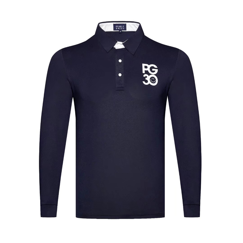 SwirlingNew Golf Clothing Golf Men's Long Sleeve T-Shirt Golf Moisture Wicking Fine Beads Clothing Free Shipping