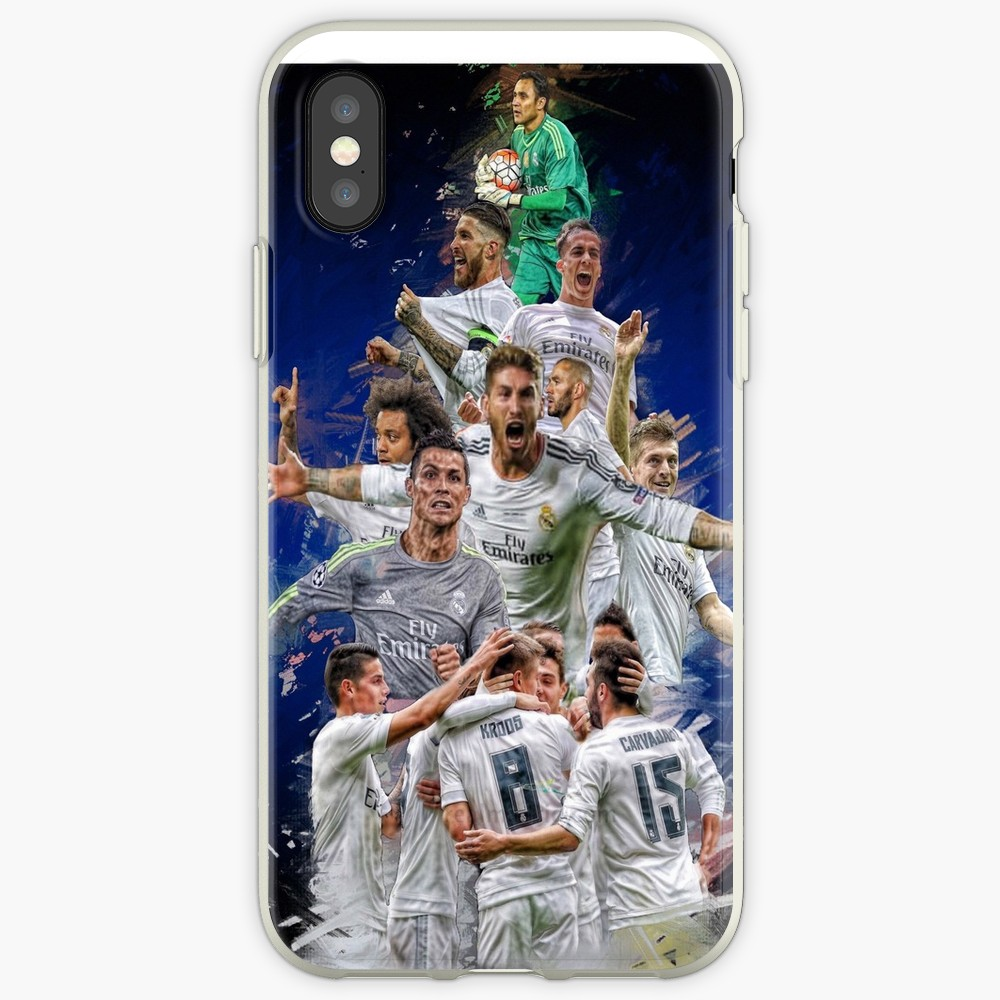<font><b>Real</b></font> <font><b>Madrid</b></font> Transparent Fall Für <font><b>iphone</b></font> X XSMAX XR 11 Pro Max fall für <font><b>iphone</b></font> <font><b>6</b></font> 6s 5 5s 7plus 8plus <font><b>iphone</b></font> 7 8 fall image