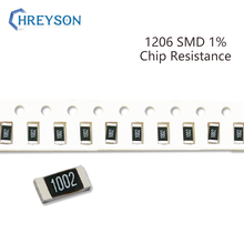 100Pcs 1206 Kit SMD Resistor 1% Tolerância 0R-392R 180R 200R 220R 240R 270R 300R 10 Ohm Componentes Eletrônicos DIY Assorted Set