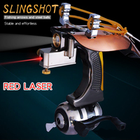 Big Power Fishing Slingshot Kit Outdoor Hunting Accessories Camping Equipment With Laser Catapult Survival Self Defense Weapons