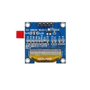 Image 5 - 0.96 inch 128X64 Blue/White/Yellow Blue OLED Display Module IIC Communicate for arduino Diy Kit