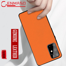 Capa for Samsung Galaxy S20 Ultra Case For Samsung Galaxy S20 Plus S8 S9 S10 Plus Note 9 10 Plus Lite Genuine Leather Back Case