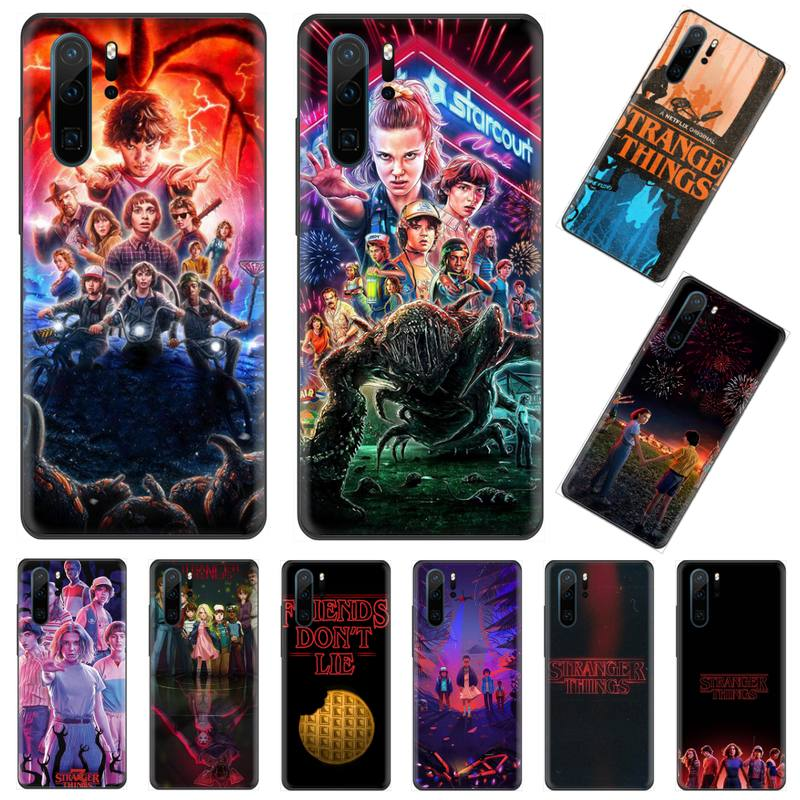 <font><b>stranger</b></font> <font><b>things</b></font> USA TV horror <font><b>Phone</b></font> <font><b>Case</b></font> cover Shell For <font><b>Huawei</b></font> P9 P10 <font><b>P20</b></font> P30 Pro <font><b>Lite</b></font> smart Mate 10 <font><b>Lite</b></font> 20 Y5 Y6 Y7 2018 2019 image
