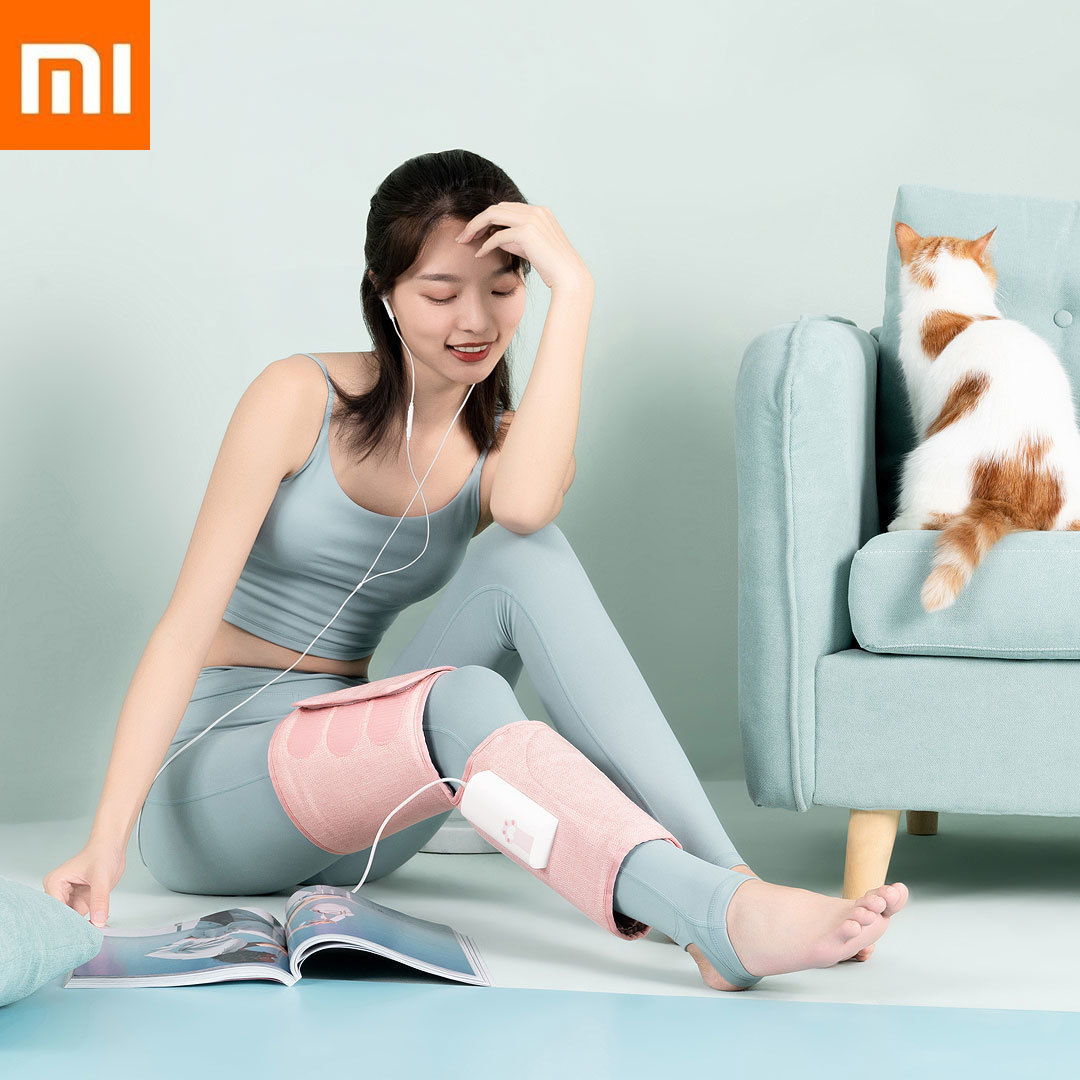 New Xiaomi Mijia Lefan Leg Air Pressure Massager 3dimensional Curve Surround Promotes Blood the Leg Xiomi for Health Lady Beauty|Smart Remote Control| |  - title=
