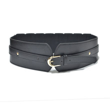 PU Leather Luxury Belts Female Fashion Corset Belt for Women Fashion Lace Up Cinch Tie Corset Waist Wide Belt Lady Waistband