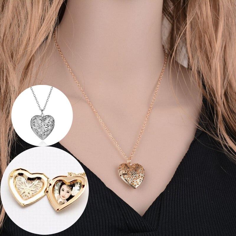 Ожерелье в форме сердца из нержавеющей стали ожерелье в форме сердца кулон цепочка Ювелирные изделия для вечеринки красивые девушки фото м...