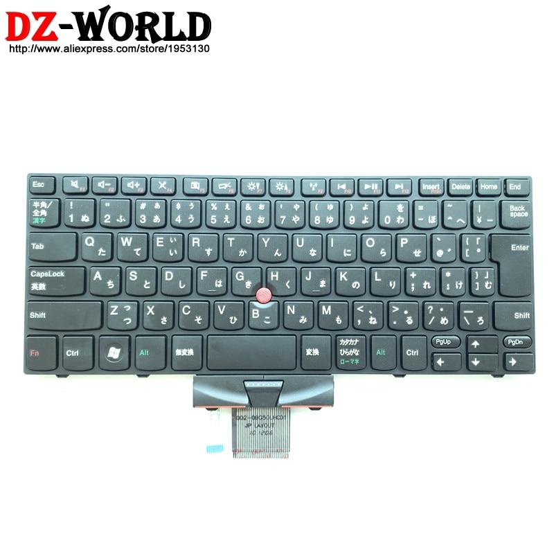 New Original Japanese Keyboard For Lenovo Thinkpad E10 E11 Japan Teclado 60Y9987 60Y9917