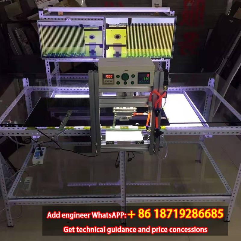 TKDMR LCD TV Screen Press Screen Repair Equipment TAB COF Bonding Machine Screen Repair Tool Pulse Hot Press New