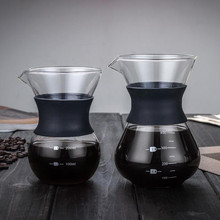 Get more info on the Glass Coffee Kettle with Stainless Steel Filter Drip Brewing  Hot Brewer Coffee Pot Dripper Barista Pour Over Coffee Maker
