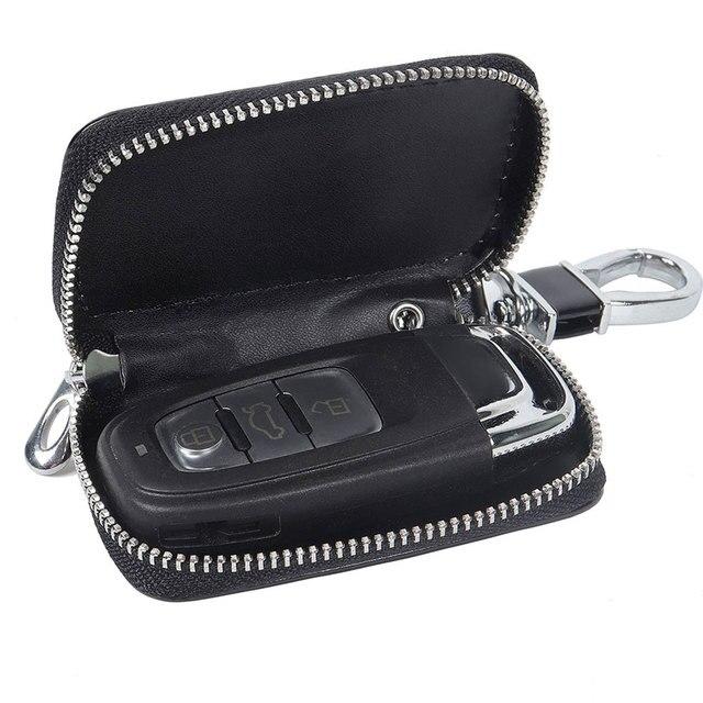 Фото кожаный умный автомобильный ключ с дистанционным управлением цена