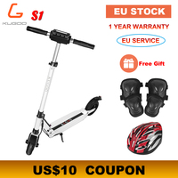 [Europe Stock] KUGOO S1 Folding Electric Scooter 350W 30KM/H 30KM Motor LCD Display Screen 8.5 Inches Tire Adult Scooter