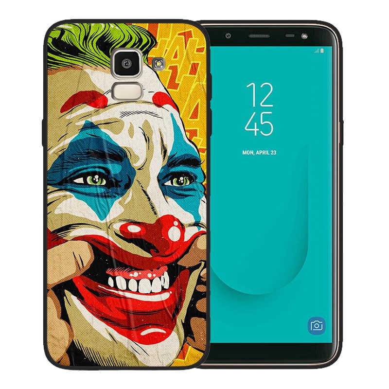 מקרה טלפון יוקרה ג 'וקר 2019 לסמסונג גלקסי A7 2018 A10 A20 A40 A50 A70 A6 A8 A5 הערה 9 מקרה 8 10 M10 M20 כיסוי סיליקון
