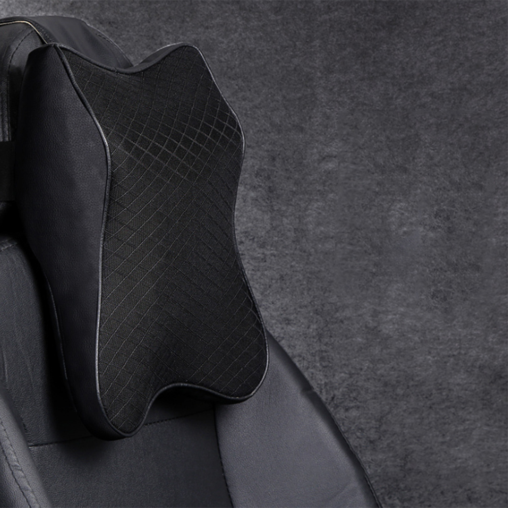 Adjustable Car Neck Pillow 3D Memory Foam Head Rest Auto Headrest Pillow Travel Neck Cushion Support Holder Seat Pillow