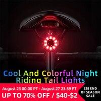 ROCKBROS-luz trasera para bicicleta