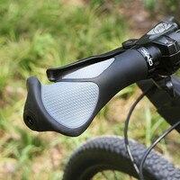 Genuine Bicicleta conjunto Bicicleta Apertos de Borracha guiador grips x 1 Antislip Ergonômico Apertos de Guiador para MTB Bicicleta de Montanha New # f Manopla bic.     -
