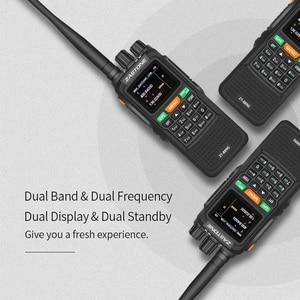 "Image 4 - 2pcs Zastone 889G נייד שתי בדרך רדיו 5 10 ק""מ UHF/VHF 10W 999CH 3000mAh ווקי טוקי חם CB רדיו משדר HF"