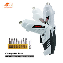 3.6V Mini Electrical Screwdriver Set Smart Cordless Electric Screwdrivers USB Rechargeable Handle with 15 Bit Set Drill