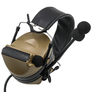Image 5 - Comtac II Electronic Tactical Headset Hearing defense Noise reduction sound pickup military headphone shooting earphone