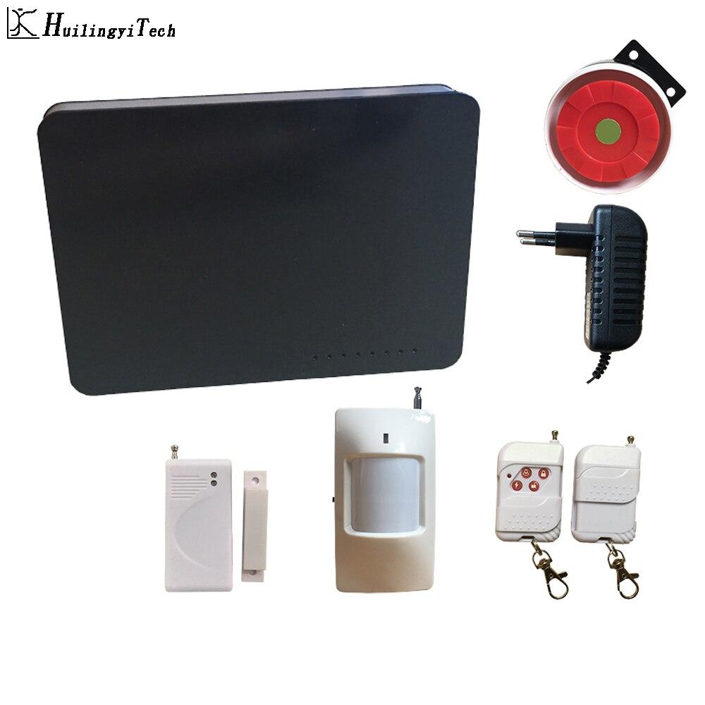 Minimalist Design Wireless Home Security Alarm System DIY Kit Gsm Sms House Burgular Alarm Protector System with Wireless Sensor|Alarm System Kits| |  - title=