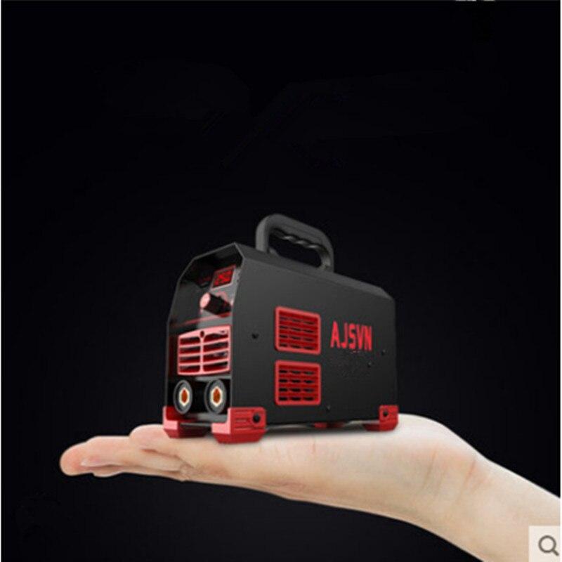 Новый 220V Регулируемый 20A-250A 4200W Портативный IGBT инвертор для дуговой сварки под флюсом-сварочный аппарат цифровой Дисплей мини Портативный с...