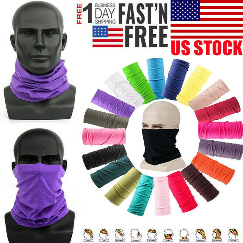 Bandana Scarf Face Dust Cover Outdoor Sport Cycling Bandanas Head Face Neck Gaiter Tube Magic Scarf Dustproof Windproof