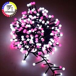 Coversage Kerst Fairy 3M 400 Led String Garland Boom Licht Keten IP 65 Waterdichte Home Garden Outdoor Vakantie Decoratie