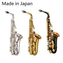 Feito no japão 875ex profissional alto gota e saxofone ouro alto saxofone com banda boca peça reed aglet mais pacote de correio