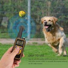 Ошейник для дрессировки собак с дистанционным управлением водонепроницаемый