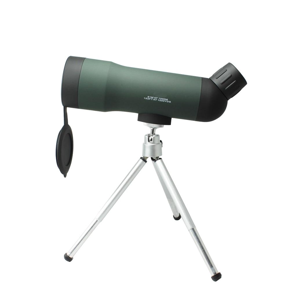 Штатив высокой четкости для наблюдения за птицами 20x50 пейзаж птица телескоп открытый монокуляр мини высокой мощности