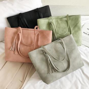 Hot sale women handbag large capacity shoulder bags   6