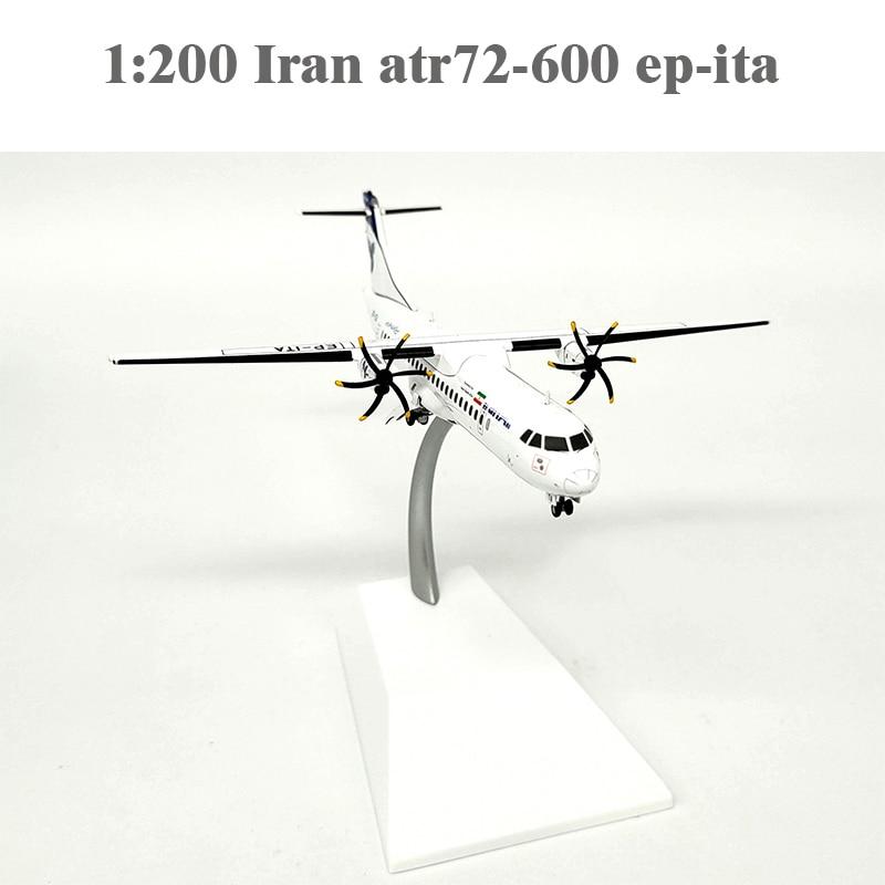1:200  Iran Atr72-600 Ep-ita  Alloy Aircraft Model Lh2080  Collection Model