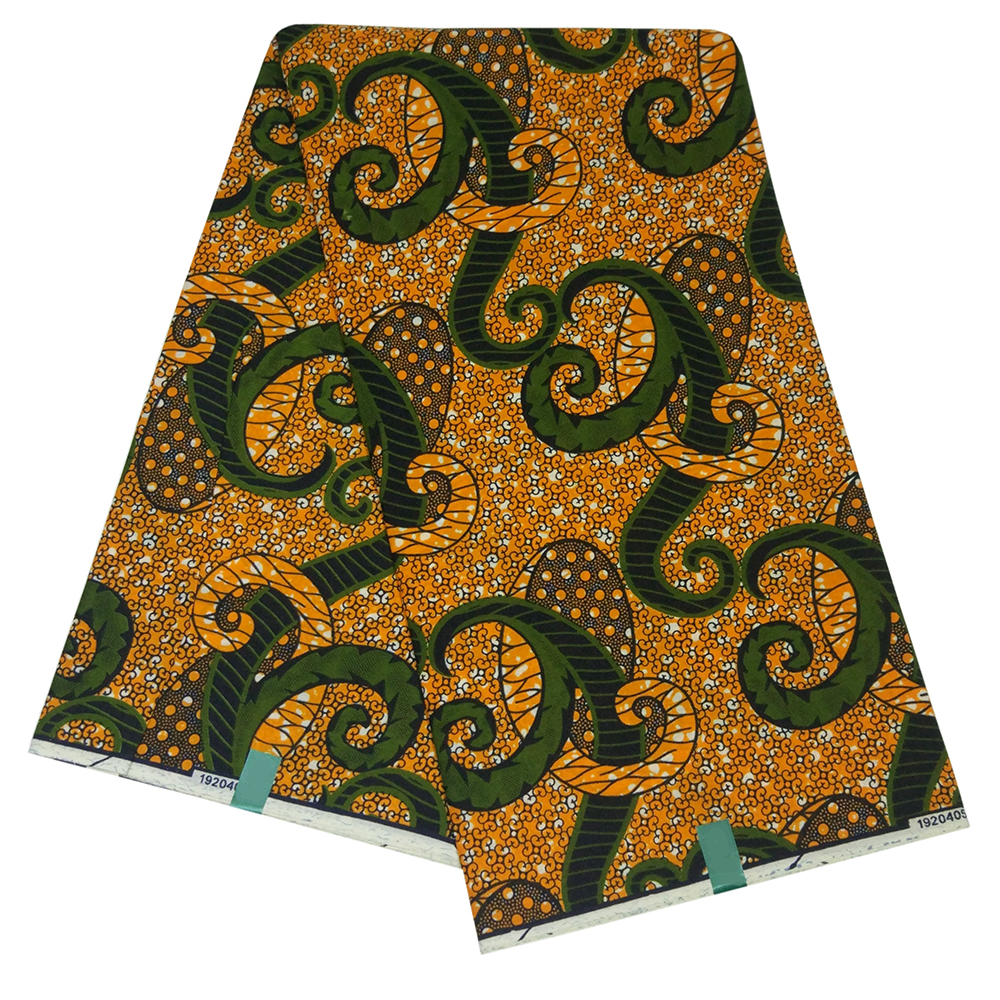 2019 Latest 100% Polyester African Fabric Wax Nederland Style Real Dutch Wax Holland Wax