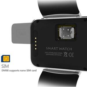 Image 4 - Android Bluetooth wifi GPS Smart Watch Smartband mini mobile phone Smartwatch Fitness tracker MTK6752 4GB ROM 3G smartphone