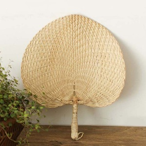 Portable Hand-Made Fans Cool Baby Mosquito Repellent Fan Summer Manual Straw Weave Palm Leaf Hand Fans Home Party Decoration #