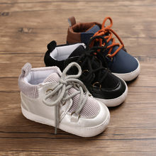 MUQGEW Baby Breathable Shoes Newborn Baby Girls Boys Unisex Solid Shoes First Walkers Soft Sole Sneakers Shoes baskets enfant(China)