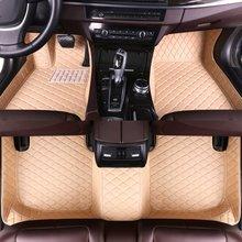 цена на Custom Car Floor Mats for Volkswagen Scirocco 2009 2010 2011 2012 2013 2014 2015 2016 Auto Accessories Car Mats Xiaobaishu