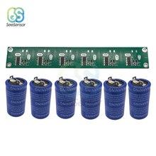 6pcs/set Super Farad Capacitor 2.7V 360F 400F 500F 2.85V 700F Super Capacitors with Protection Board for Car Auto Power Supply 1pc 5 4v 250f super farah capacitor module 2 7v 500f ultralow resistance 274073