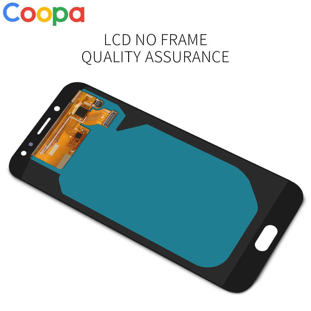 شاشة LCD أصلية Super Amoled لهاتف سامسونغ غلاكسي, سامسونغ غلاكسي J7 برو، 2017 J730 وJ730F، شاشة تعمل باللمس