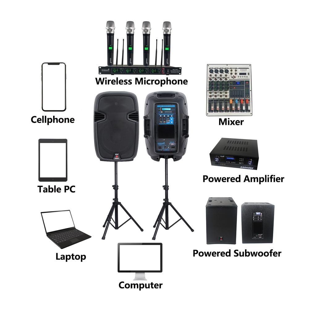 audio stage ktv disco speakers