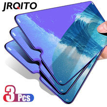 3Pcs Protective Glass for Samsung Galaxy A7 A9 2018 J6 J4 Plus 2018 Screen Protector 2.5D Tempered Glass for Samsung J6 J4 2018(China)