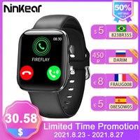 Ninkear GT3 Pro Smart Uhr Bluetooth-Kompatibel SmartWatch Mit Call Herz Rate Schlaf Pedometer-Männer und Frauen Sport SmartWatch
