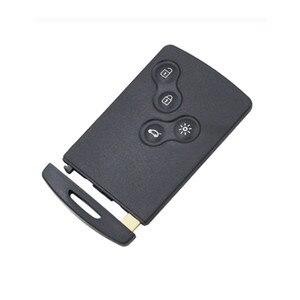Image 4 - Wilongda 4ปุ่มรีโมทกุญแจรถKeylessระบบ434Mhz Pcf7953 Hitag AESชิปสำหรับRenault Clio 4 Keyอุปกรณ์เสริมหลังจาก2013