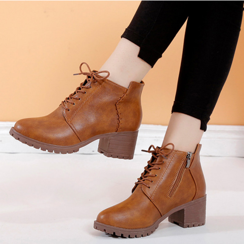 woman brown Botas de mujer|Ankle Boots