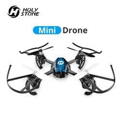 Holy stone HS170S Mini zabawkowy dron dzieci RC drony helikopter 2.4Ghz 6 Gyro mały quadcopter helikopter zdalnego sterowania zabawka dla chłopców|Helikoptery RC|Zabawki i hobby -