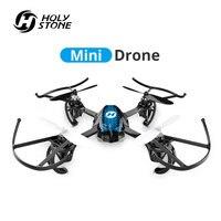 Pedra sagrada hs170s mini zangão brinquedo crianças rc drones helicóptero 2.4 ghz 6 giroscópio mini quadcopter helicóptero de controle remoto brinquedo para meninos