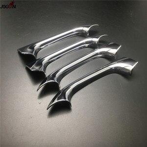 Image 5 - Kapı kulp kılıfı Trim Mercedes Benz C sınıfı W203 2000 2007 ABS krom gümüş