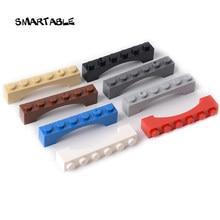Smartable kemer 1x6 yükseltilmiş yay yapı blok parçaları oyuncaklar Kid için yaratıcı uyumlu büyük markalar 92950 30 adet/grup