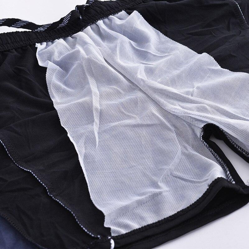 New Style Extra Large Fat Men's AussieBum Ye Jia Fertilizer Plus-sized Bubble Hot Spring Swimwear Yk1756