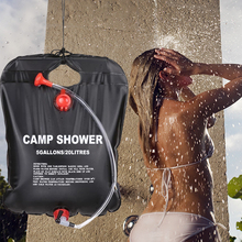 20L Outdoor Water Bag Foldable Solar Energy Heated PVC Shower Camping Travel Hiking Climbing Picnic Storage